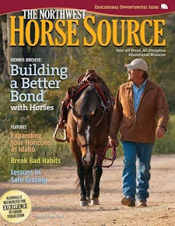August 2009 Northwest Horse Source cover
