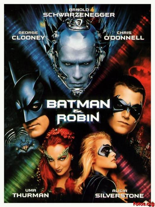 batman and robin movie poster
