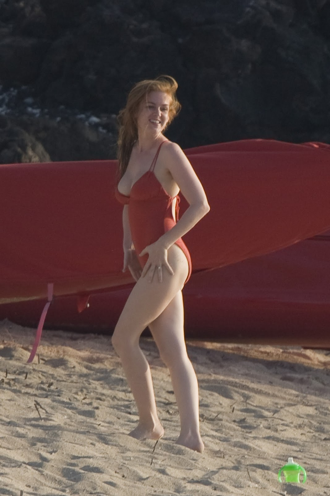 isla fisher bikini 1 10 Jamaica: A Killer Vacation. (Weekly Column)