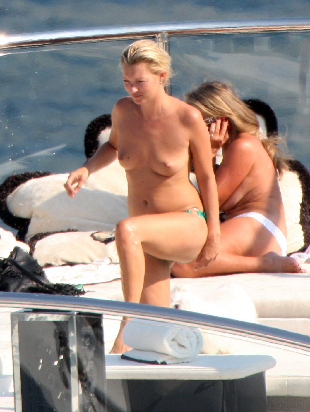 Topless kate moss nude