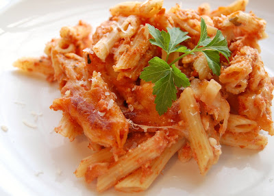 baked penne with four cheese baked penne baked ziti this baked ziti is ...