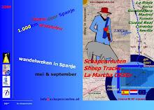 wandelen Spanje 2009
