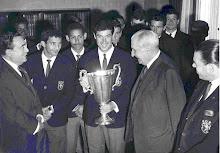 Sporting vencedor da Taça das Taças em 1964.