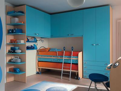 Recamara para dos peque a amplia habitaci n para dos - Habitacion pequena para dos ninos ...