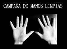 MANOS LIMPIAS SALVAN VIDAS
