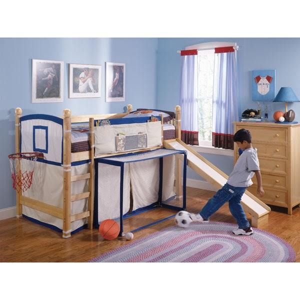 Dormitorios infantiles recamaras para bebes y ni os - Habitaciones en espacios reducidos ...