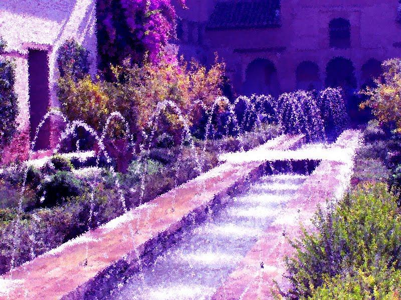 Sonidos de la Alhambra, obra de Andrés Rueda