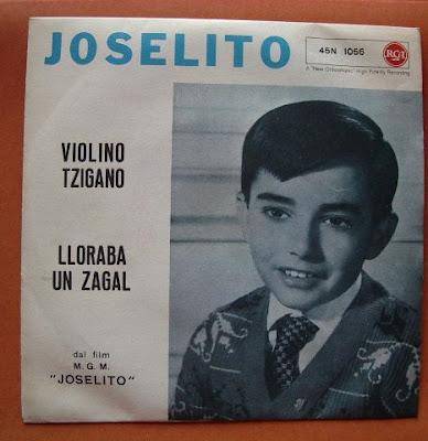 Joselito - Violino Tzigano / Lloraba Un Zagal