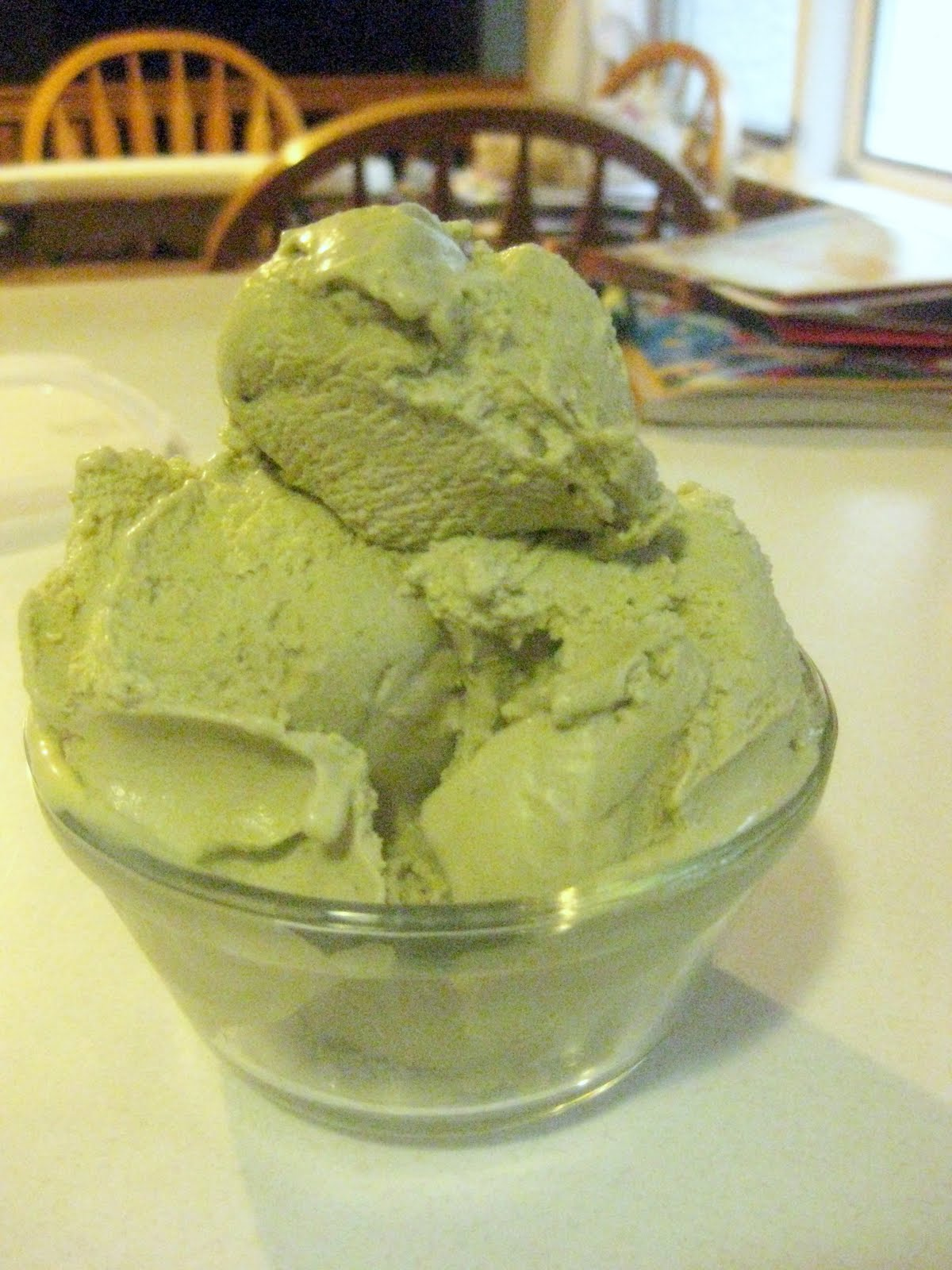 French Kiss Cook: Green Tea Ice Cream