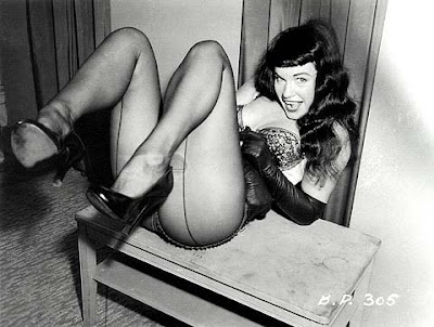 bettie page reclining bettie / briaberger