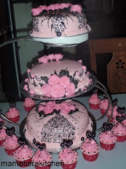 3 tiers steambuttercream kek