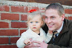 Mylie and Daddy