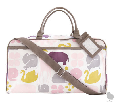 dwell studio gio diaper bag in lemon
