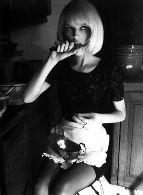 Eva Herzigova by Glen Luchford for Vogue Italy June 2010