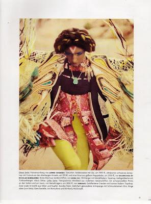Jacquelyn Jablonski by Sebastian Kim for Vogue Germany July 2010