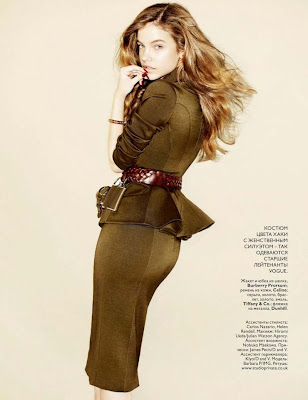 Barbara Palvin by Matt Irvin for Vogue Russia July 2010…one more