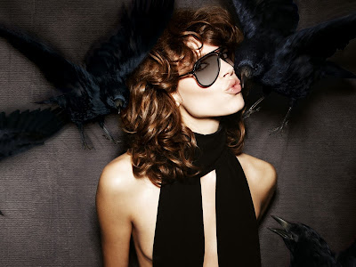Freja Beha Erichsen and Nicholas Hoult for Tom Ford Eyewear Fall 2010