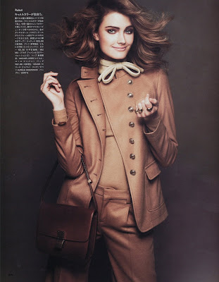 Constance Jablonski by Andreas Sjodin for Vogue Nippon September 2010, part 2