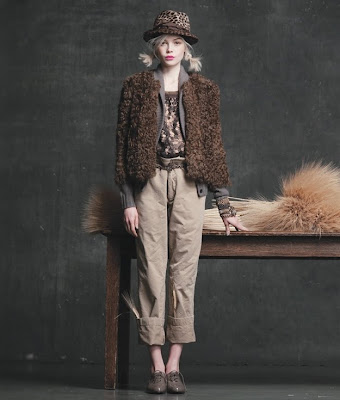 Siri Tollerod for J.Crew Fall 2010 Lookbook, part 2