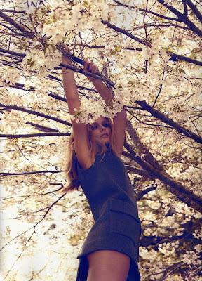 Beauty Edita Vilkeviciute by Camilla Akrans for Numero #116 September 2010…Divine Idylle, part 2