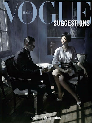 Georgina Stojilikovic and Diego Miguel by Greg Lotus for Vogue Italy October 2010, part 3
