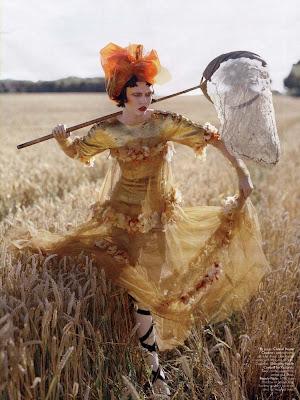 Karlie Kloss by Tim Walker for W Magazine October 2010