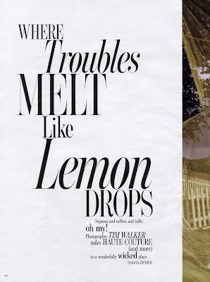 Karlie Kloss by Tim Walker for W Magazine October 2010, part 2