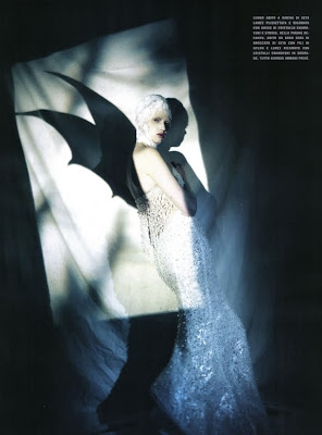 Lara Stone by Paolo Roversi for Vogue Italy March 2010
