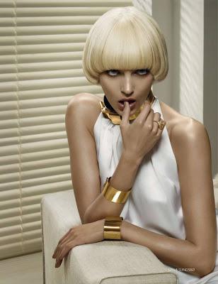 Anja Rubik by Solve Sundsbo for Vogue Russia November 2010
