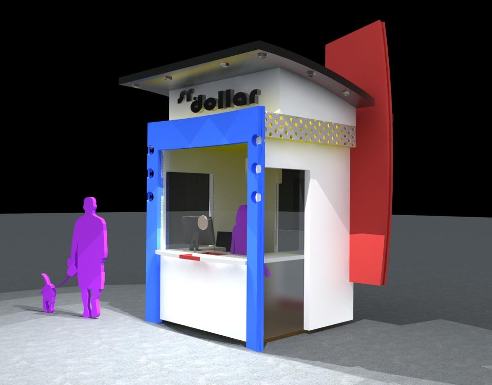 Arquitectura modulos comerciales exteriores consulado for Construccion de modulos comerciales
