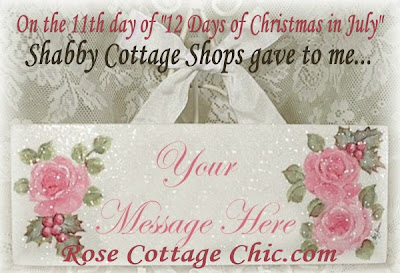 12 Days of Christmas In July: FEATURED BOUTIQUE TODAY'S GIVEAWAY