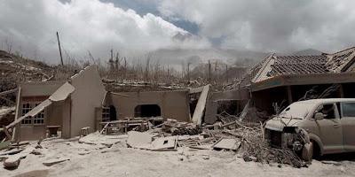 puing puing rumah setelah letusan gunung merapi