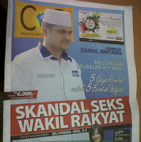 Cover Cek & Ricek Edisi Skandal Seks Wakil Rakyat