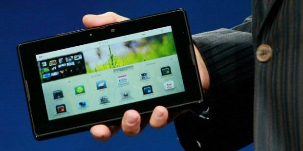 BlackBerry+PlayBook BlackBerry Playbook First on Display in Bali