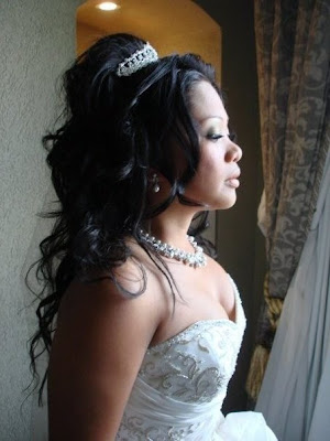 Bridal Hairstyles - long curly