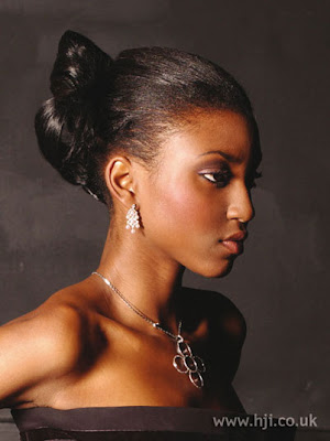 African American Wedding Hairstyles & Hairdos: December 2009