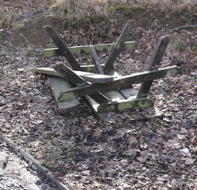 Llandrindod Wells lakeside picnic