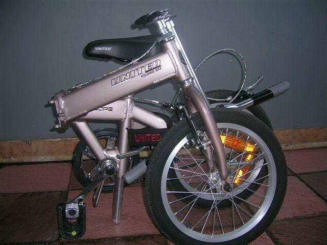 Fenny's Shop: Jual Sepeda Lipat United Escape - Seken