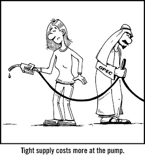 OPEC World Oil Supply gas gasoline