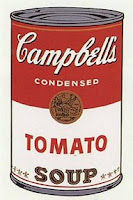 Campbell Soup Andy Warhol Food before Fuel corn wheat
