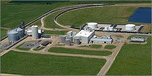 POET Biorefining ethanol plant