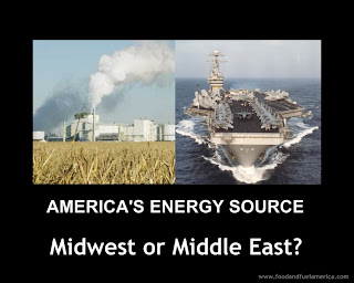 America Energy Source Midwest or Middle East