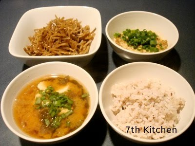 7th kitchen everyday food blog japanese breakfast dinner sometimes i miss these japanese breakfast when i was eating them everyday i did not think about anything but now i miss it sometimes forumfinder Gallery