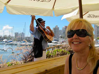 Pat Dunlap at Yacht Club Harbor - Punta del Este, Uruguay