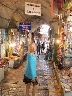 Pat in Old City Streets - Jerusalem, Israel