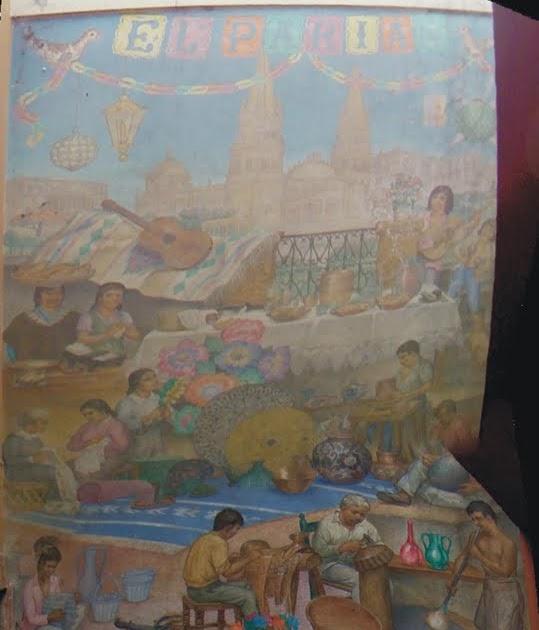 Culturautl n dictamen de conservaci n de la pintura mural for El mural guadalajara