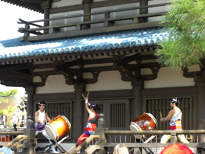 Matsuriza Taiko Drummers in Japan Epcot
