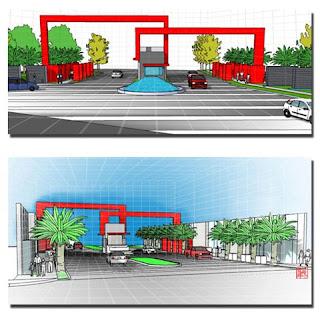 Menerima Jasa Perencanaan: Design Pintu Gerbang