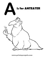 Alphabet Animals Coloring Pages   COMPLETE!