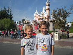 The Boys at Disneyland